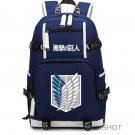 Attack on Titan backpack Shingeki no Kyojin backpack teenagers Men women's School Bags