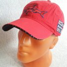 Paul & Shark Style Sport Baseball Cap New Hat Adjustable Red #002