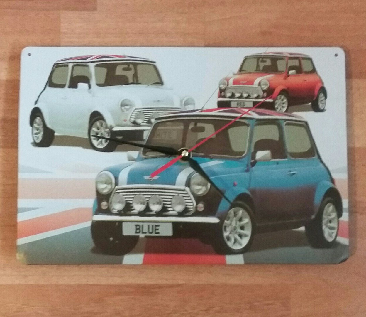 Wall Clock Mini Cooper