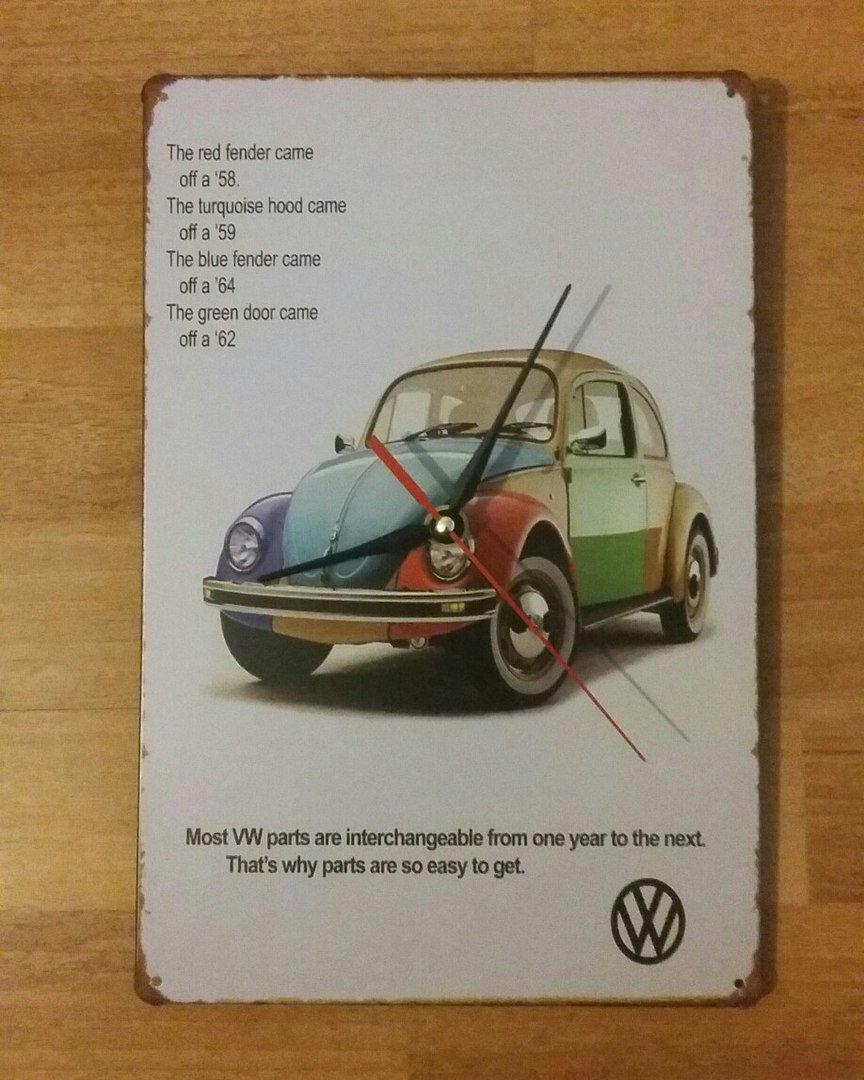 Wall clock Volkswagen