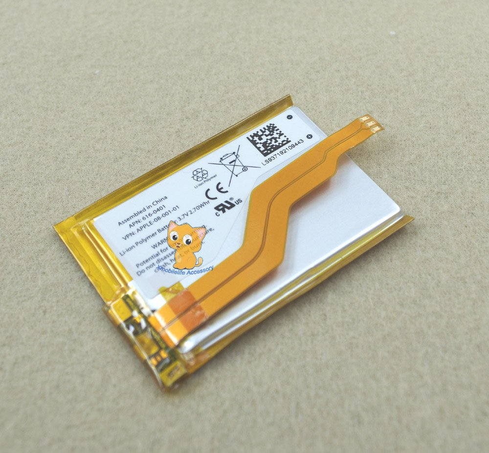 Internal Li-ion Polymer Battery Replacement for iPod Touch 3rd gen Touch 3 32GB 64GB