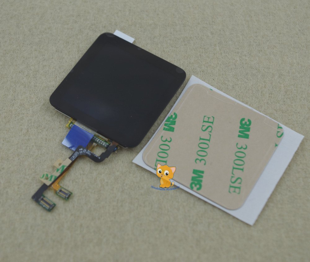 Touch Digitizer Touchpad Glass Screen LCD Display Assembly Adhesive for iPod Nano 6th gen 8GB 16GB