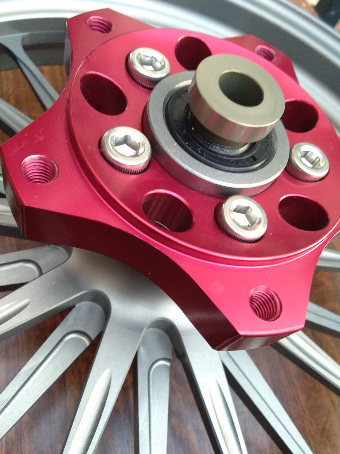 Shark Factory FULLY Forged Racing wheel for ZUMA / BWS 125