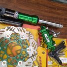 Green RRGS custom HONDA Ruckus front end disk brake conversion kit