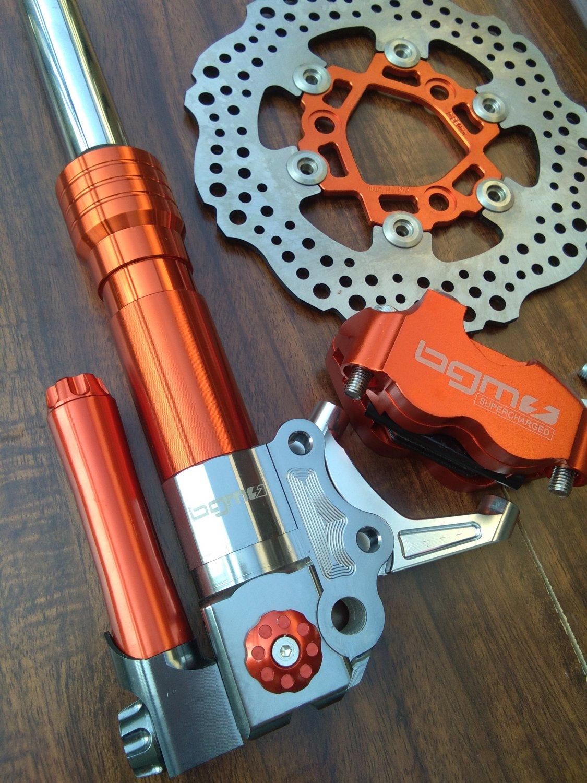 Orange BGM SUPERCHARGED Front End Kit for HONDA RUCKUS,