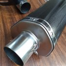 BIG Full Carbon Fiber 2 inch Exhaust System for HONDA Grom MSX