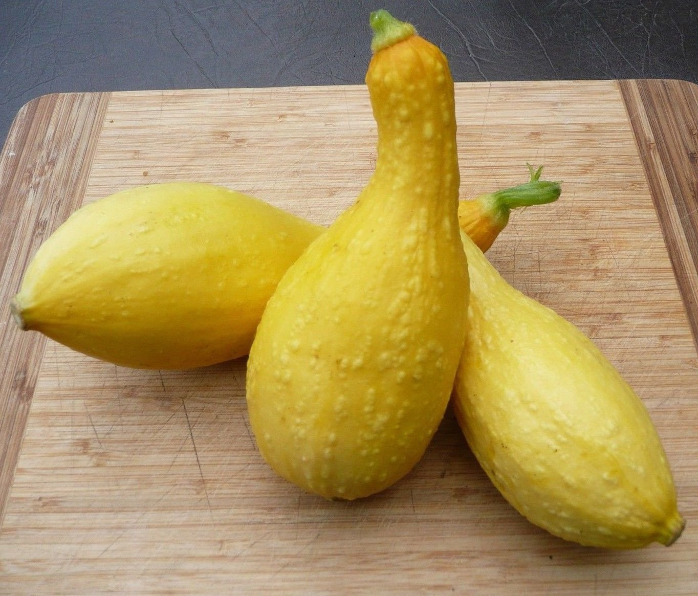Golden Crookneck Zucchini Summer Squash 25 seeds * Heirloom *Non GMO* *SHIPPING FROM US* CombSH H21