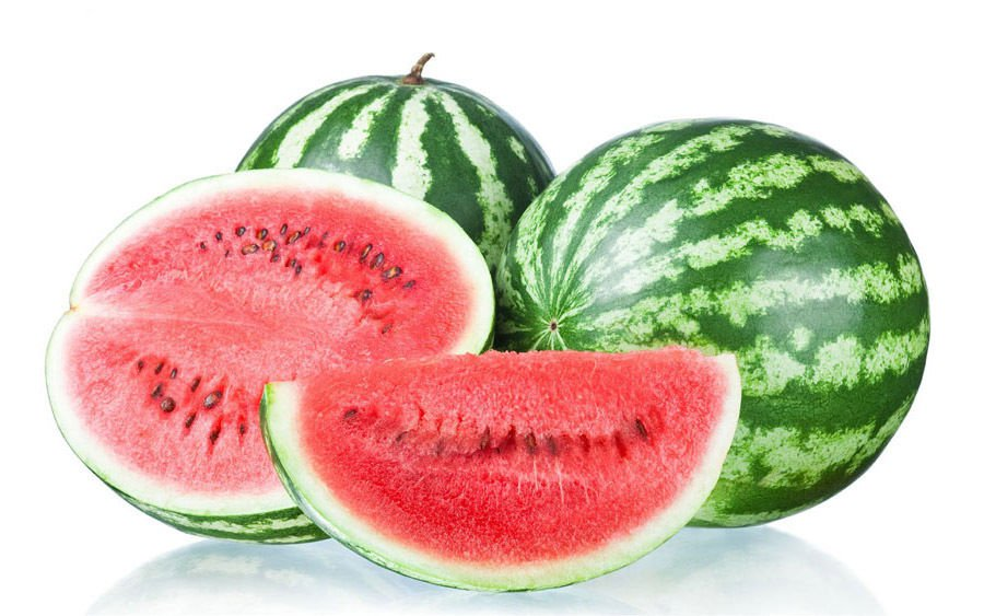 Watermelon Crimson sweet 100 seeds * Popular* Medium size * Extra sweet * *SHIPPING FROM US* CombSH