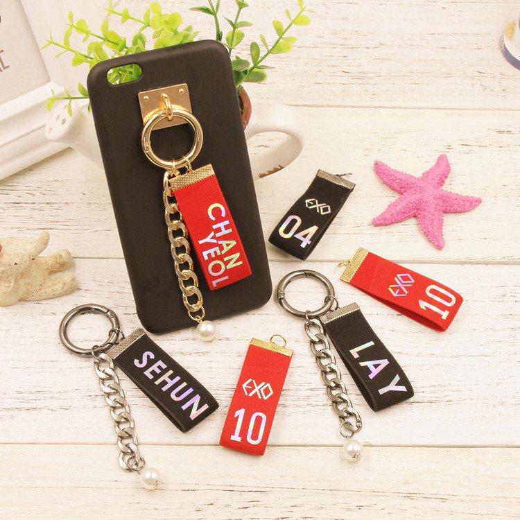 exo member cellphone straps 9pcs/lot free shipping