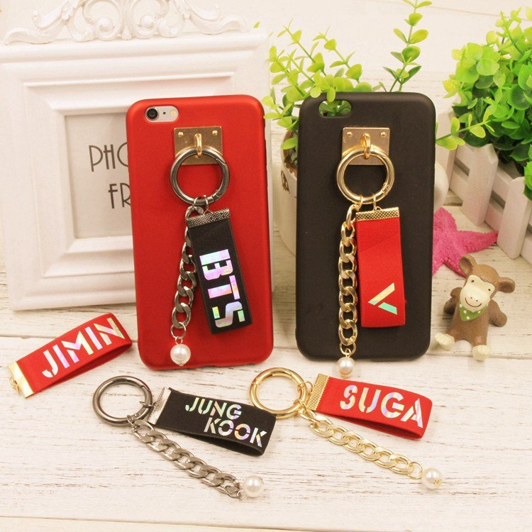 bts member phone straps 8pcs/lot free shipping