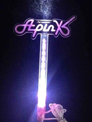 10pcs/lot  free shipping apink  concert led light stick