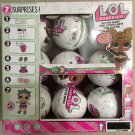 LOL Surprise Glitter Series Lot of 18 with Display case.