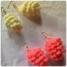 hand crocheted weightless earrings