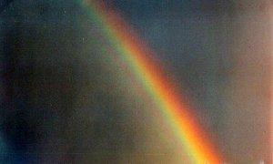Rainbow 2   10 x 13  framed