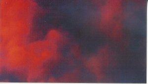 Sunset 2  8 x 10 framed