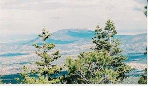Mountain Top  2  10 x 13 framed