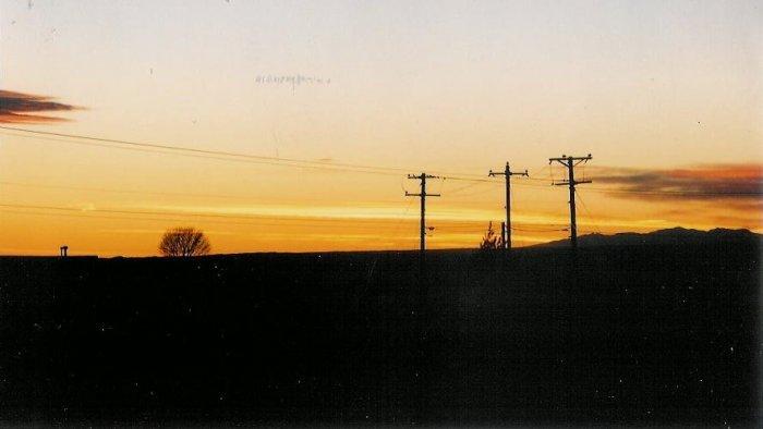 Sunset 6  10 x 13 framed