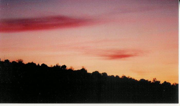 Sunset 7 8 x 10 framed