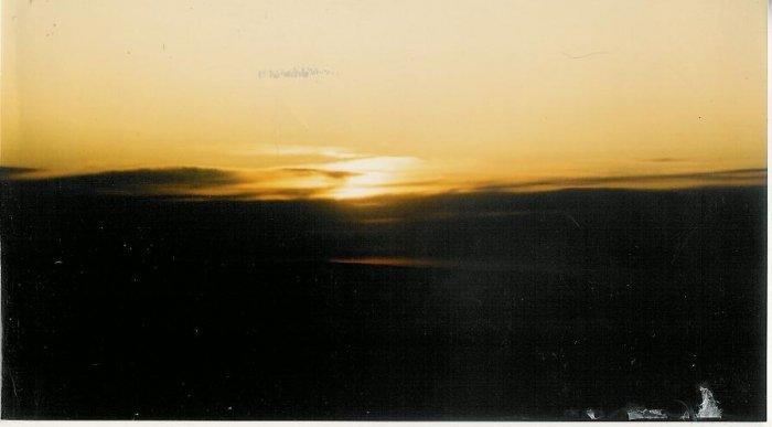 Sunset 8  8 x 10 framed