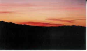Sunset 9  8 x 10 framed