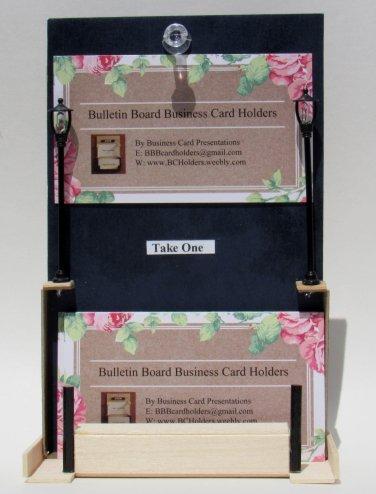 Handmade bulletin board business card holders colourmoves