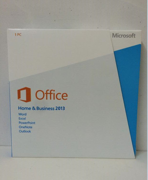 Microsoft Office Home and Business 2013 Box Pack (Disc Version)