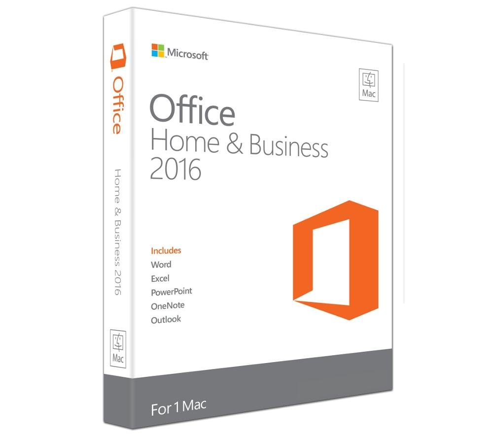 Microsoft Office Home and Business 2016 (Disc Version)