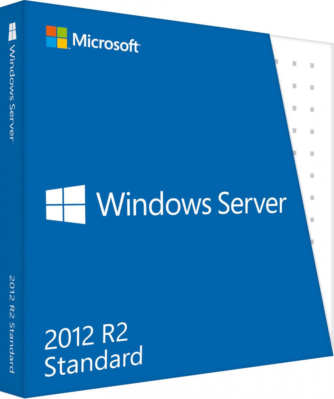 Microsoft Windows Server Standard 2012 R2 (Disc Version)
