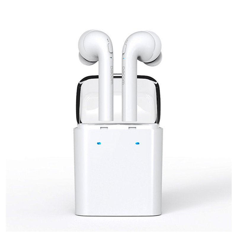 Dacom TWS Bluetooth 4.2 Earphones Earbuds True Wireless For iphone 7 7 plus Airpods Android