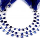 """1 Strand Natural Kyanite Pear Shape Approx- 5x6-5x8mm Faceted Gemstone 7"""" Long"""