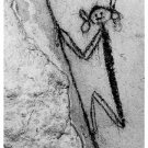 BWCuevista-- 5x7 Taino cave painting Photo. Click on thumbnail to view full image.