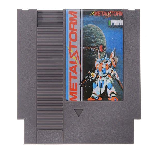 Metal Storm 72 Pin 8 Bit Game Card Cartridge for NES Nintendo