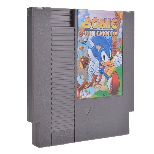 Sonic the Hedgehog 72 Pin 8 Bit Game Card Cartridge for NES Nintendo