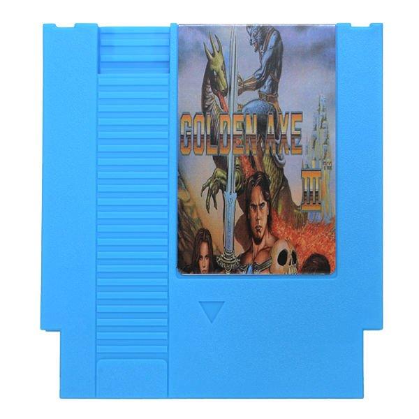 Golden Axe III 72 Pin 8 Bit Game Card Cartridge for NES Nintendo with ntsc & PAL