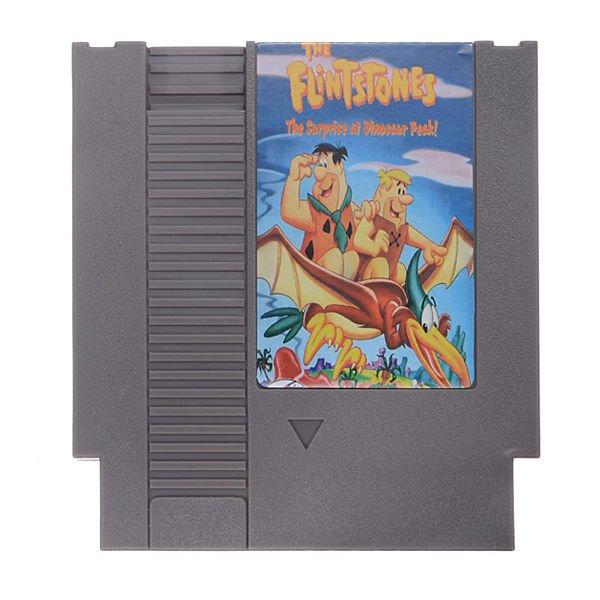 The Flintstones 2 - The Surprise at Dinosaur Peak 72 Pin 8 Bit Game and PAL