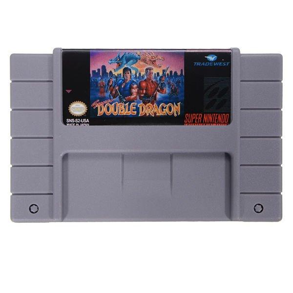 Double Dragon Nintendo Super Game Snes System 16 Bit 46 Pin Cartridge SFC NTSC