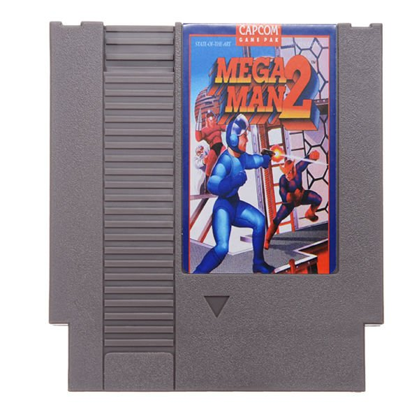 Megaman 2 Mega Man II 72 Pin 8 Bit Game Card Cartridge for NES Nintendo