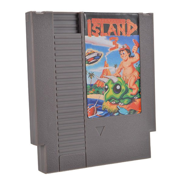Hudson's Adventure Island 3 72 Pin 8 Bit Game Card Cartridge for NES Nintendo