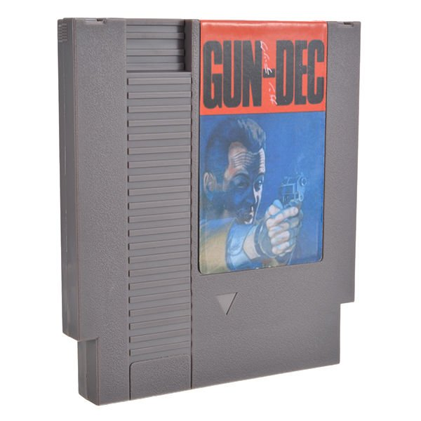 Gun-Dec 72 Pin 8 Bit Game Card Cartridge for NES Nintendo
