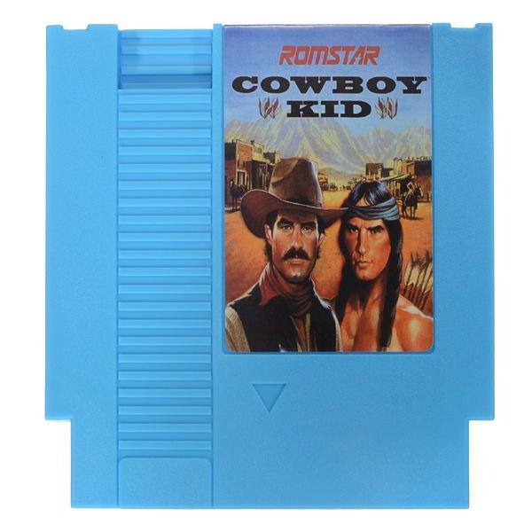 Cowboy Kid 72 Pin 8 Bit Game Card Cartridge for NES Nintendo