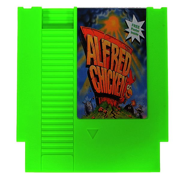 Alfred Chicken 72 Pin 8 Bit Game Card Cartridge for NES Nintendo