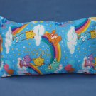 Care Bears Travel Pillow Blue New with Tag