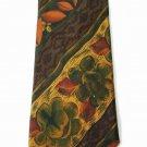 New HUGO BOSS designer tie necktie authentic silk fine Italy classic abstract