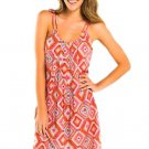 NWT TORI PRAVER S swimsuit cover up Dress aztec Print Sundress