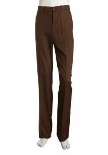 NWT BOBBY JONES Golf pants heavyweight 34 X unhemmed flat front $175 Pima cotton