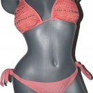 NWT ROSA CHA brazilian bikini swimsuit crochet  M $316 rio 2pc bathing suit
