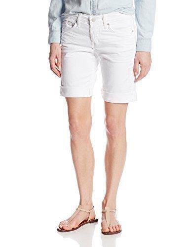 NWT RED ENGINE 29 denim jean shorts Renegade button-fly optic white boyfriend
