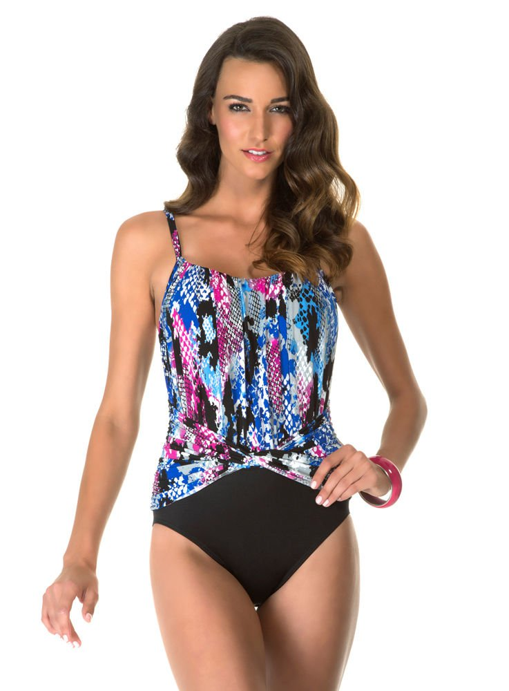 NWT MAGICSUIT by MIRACLESUIT 8 slimming swimsuit Underwire Jerry $154