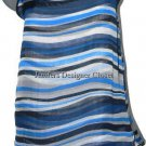 NWT ADAM LIPPES NY 8 100% silk striped tank tunic shell career designer
