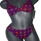NWT ANITA Beach Secrets bikini swimsuit underwire 8 Cup 2 piece multi-color
